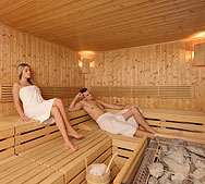 Sauna unutar The Body Holiday wellness centra u hotelu Sol Garden Istra u Umagu